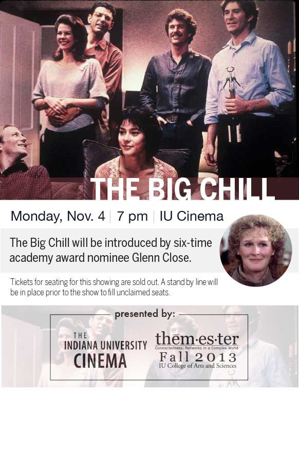 The Big Chill flyer
